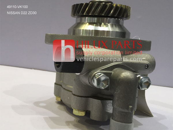 49110-VK100,Best Quality Nissan D22 ZD30 Steering Pump