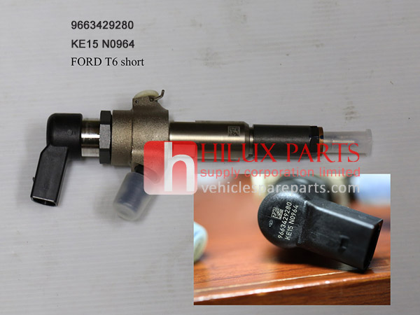 9663429280,Genuine Ford Ranger T6 Injector short KE15 N0964
