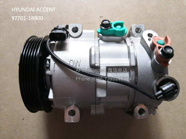 97701-1R900,Auto Compressor for Hyundai Accent,977011R900