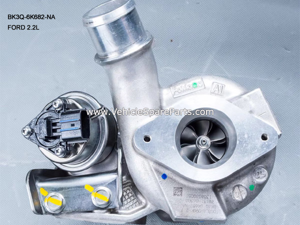 BK3Q-6K682-NA,Ford Ranger 2.2L Turbocharger