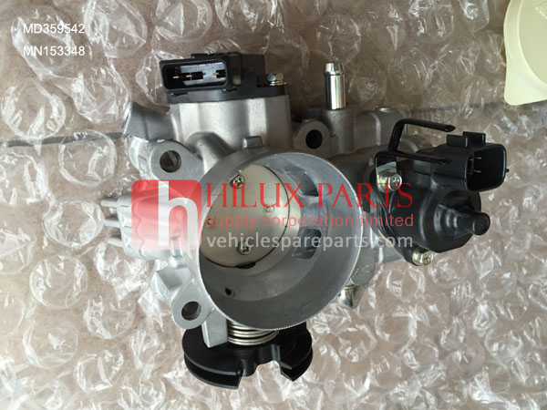 MD359542,Genuine Mitsubishi Pajero H76 Throttle Body Assy,MN153348