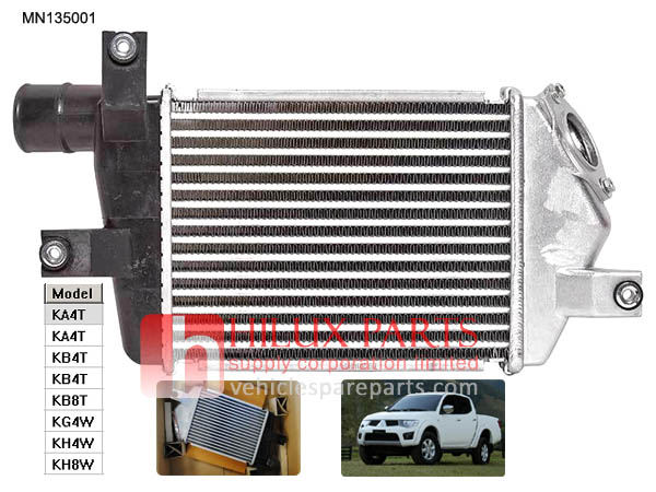 MN135001,Mitsubishi Inter Cooler For L200 Pajero Sport